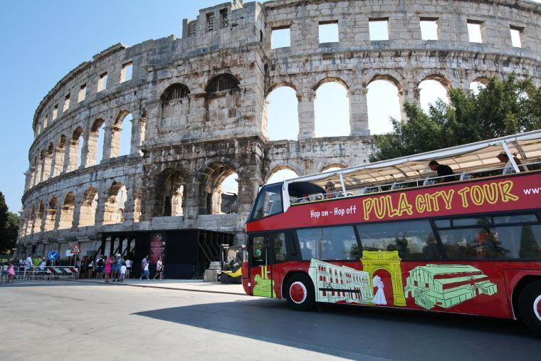 Pula City Tour - kundefordeler i Kroatia